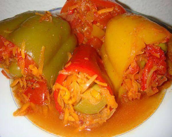 Болгарский перец фаршированный на зиму - 14 домашних вкусных рецептов